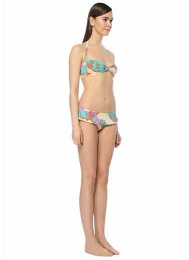La Mer Tropikal Desenli Bikini Takım Renkli
